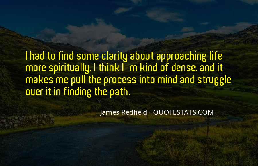 Quotes About Clarity In Life #1564621
