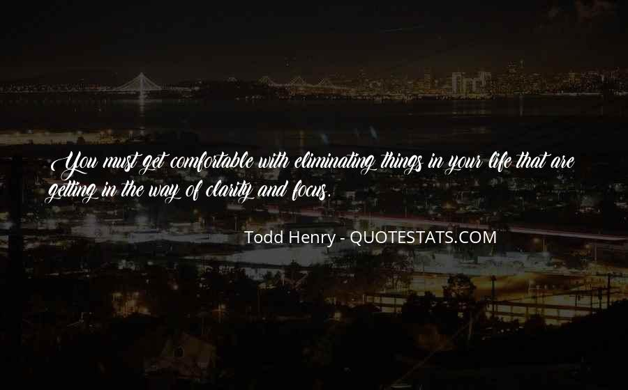 Quotes About Clarity In Life #1765512