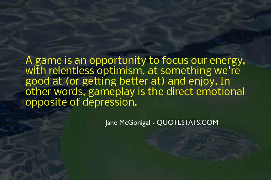 Quotes About Getting Better From Depression #1542010