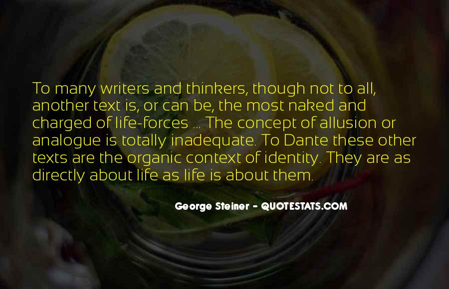 Quotes About Organic Life #244926