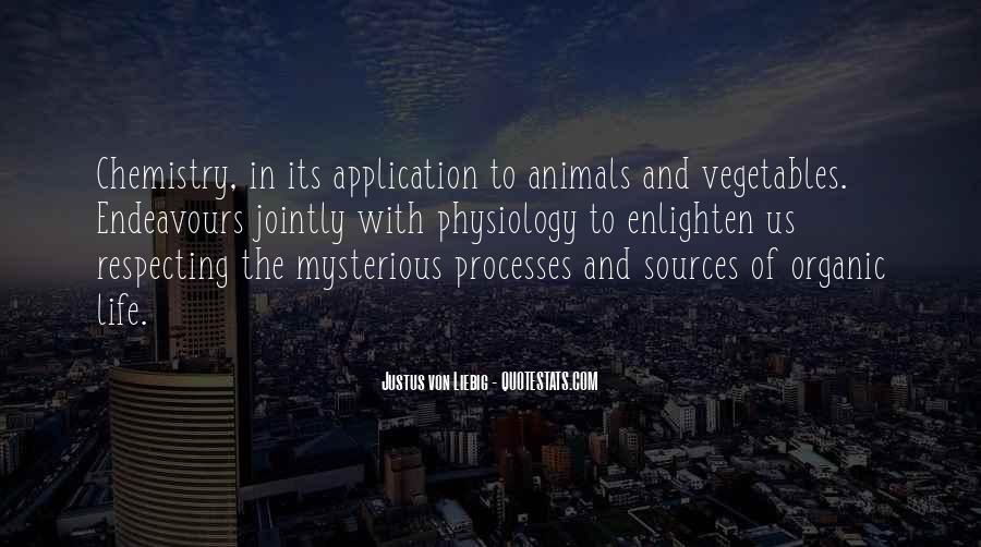 Quotes About Organic Life #66761