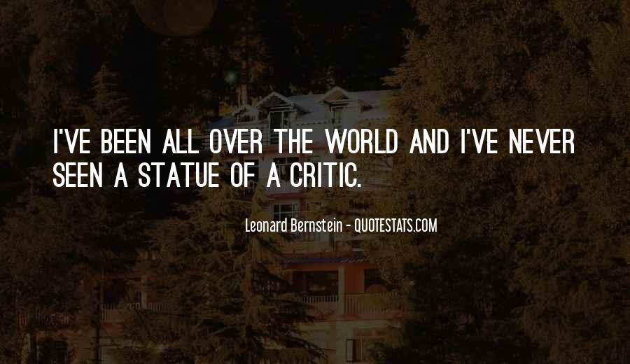 Quotes About Bernstein #113580