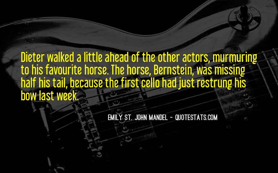 Quotes About Bernstein #154941