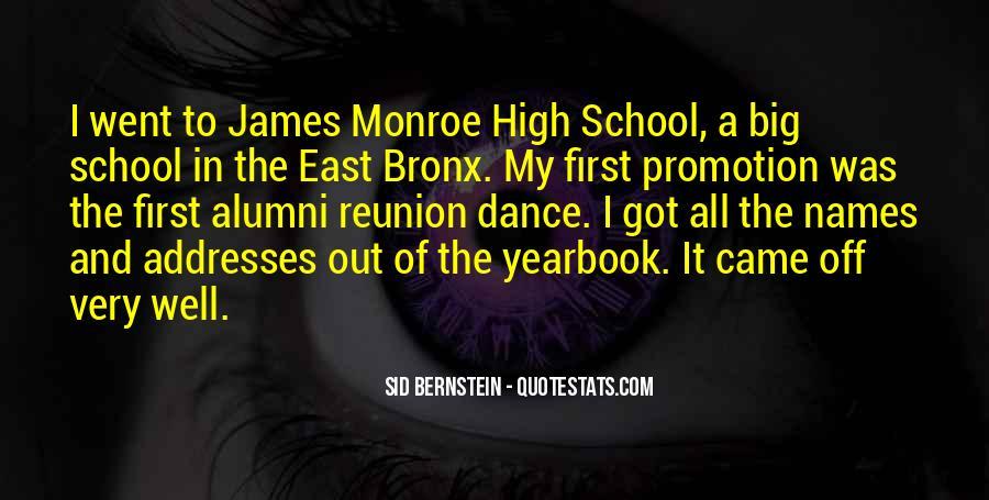Quotes About Bernstein #217471