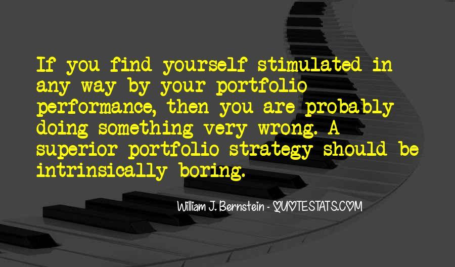 Quotes About Bernstein #221751