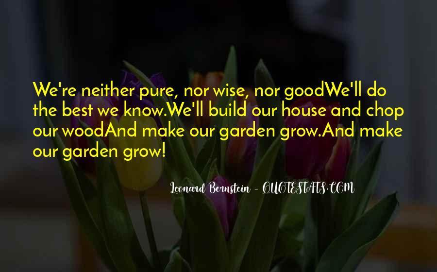 Quotes About Bernstein #223721