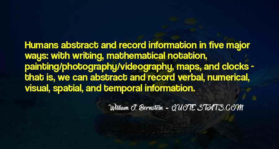 Quotes About Bernstein #242061