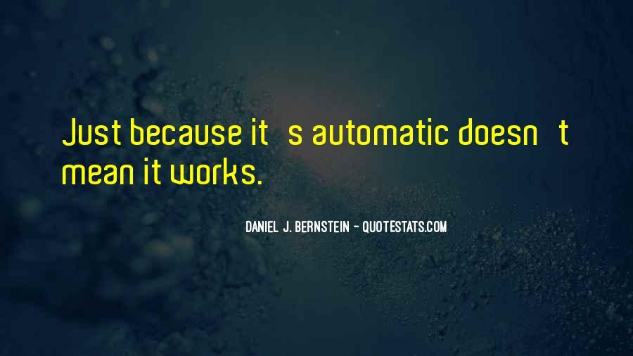 Quotes About Bernstein #248993