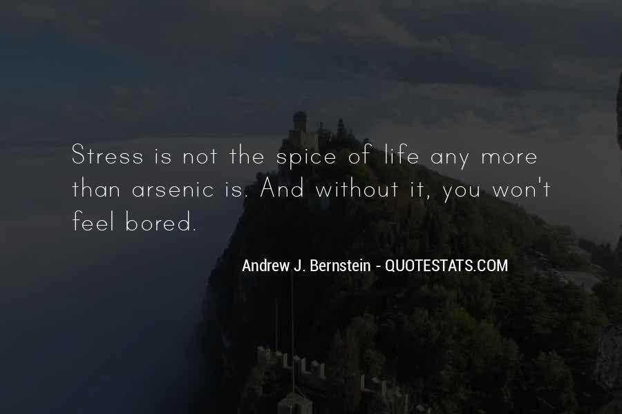Quotes About Bernstein #333136