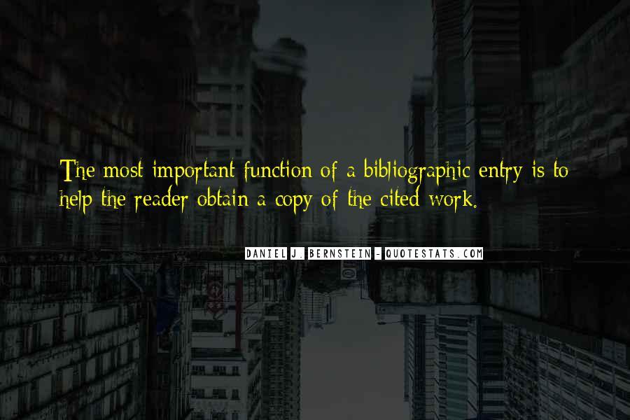 Quotes About Bernstein #417389