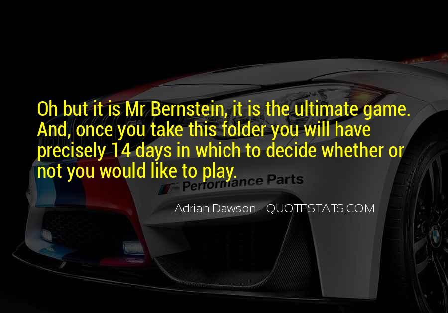 Quotes About Bernstein #43347