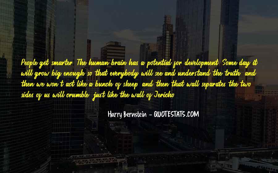 Quotes About Bernstein #89747