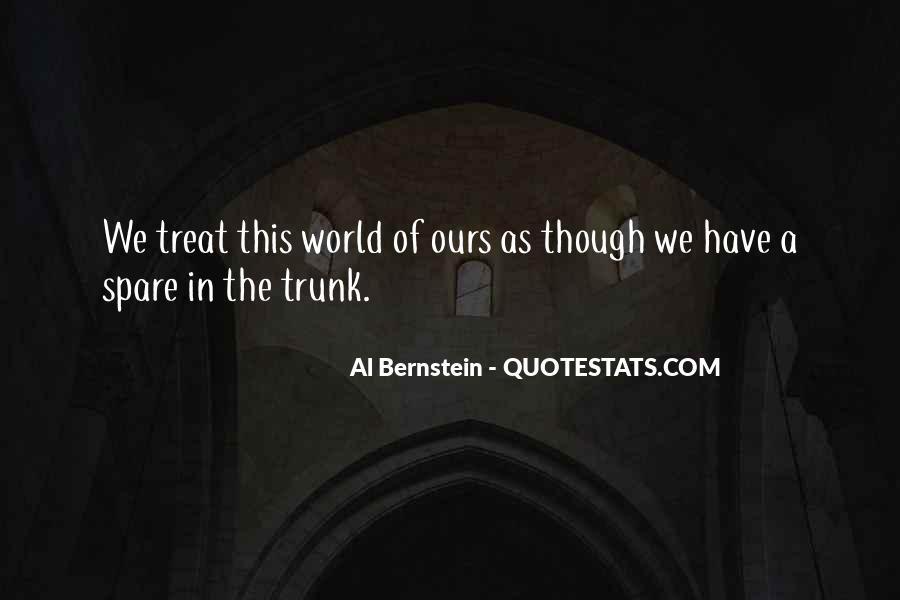Quotes About Bernstein #90396