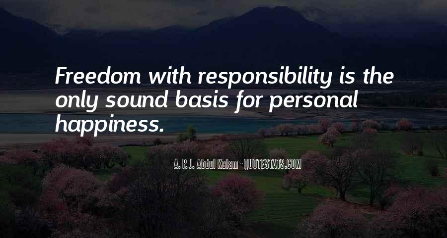 Quotes About Personal Happiness #221222