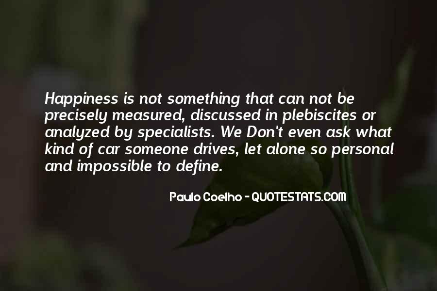 Quotes About Personal Happiness #279358