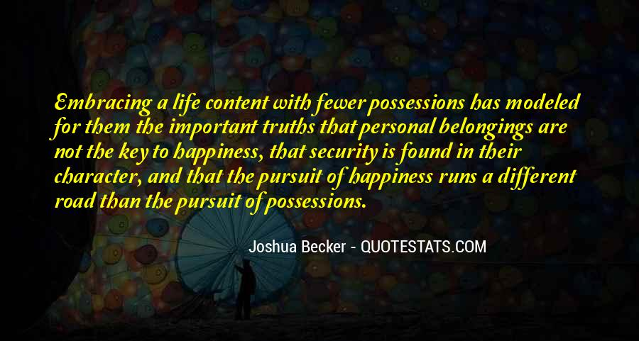 Quotes About Personal Happiness #40343