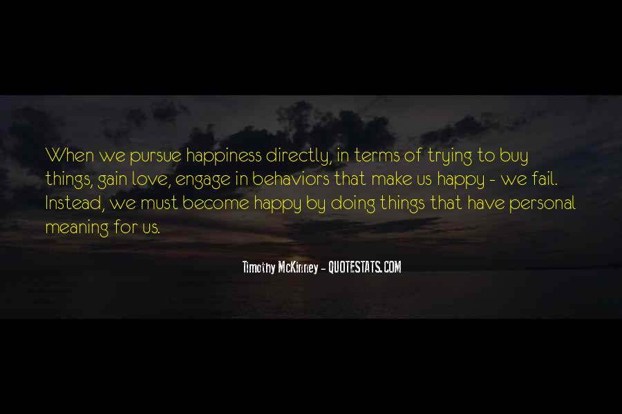 Quotes About Personal Happiness #441393