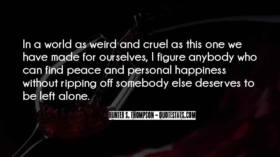 Quotes About Personal Happiness #504988