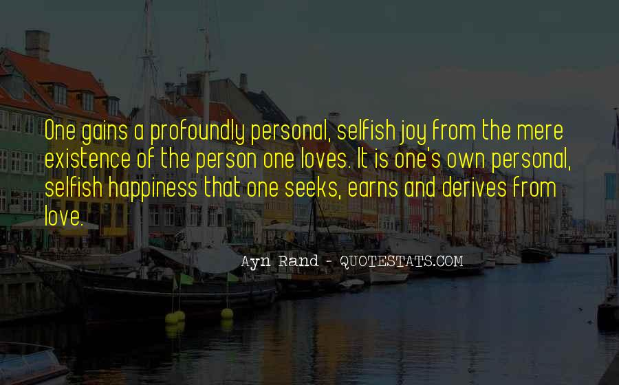 Quotes About Personal Happiness #771265