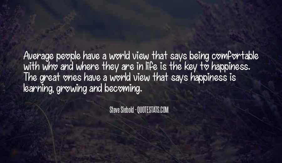 Quotes About Personal Happiness #803298