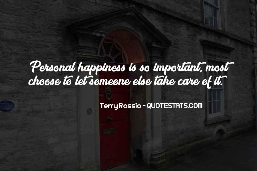 Quotes About Personal Happiness #941924