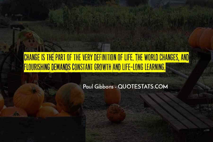 Quotes About Personal Change And Growth #1282291