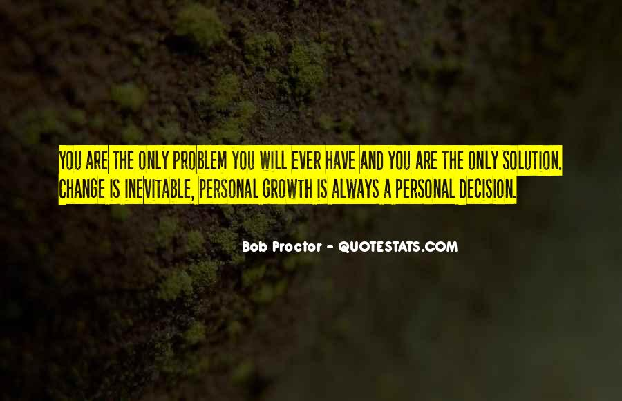 Quotes About Personal Change And Growth #1326133