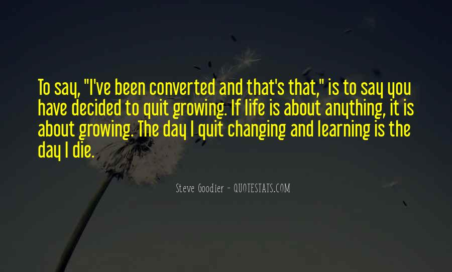 Quotes About Personal Change And Growth #1668845