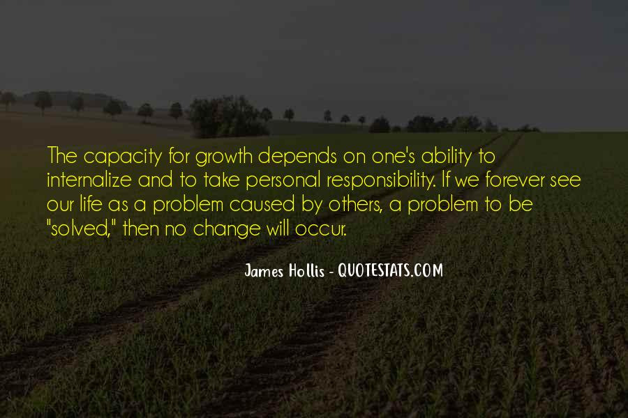 Quotes About Personal Change And Growth #1735115