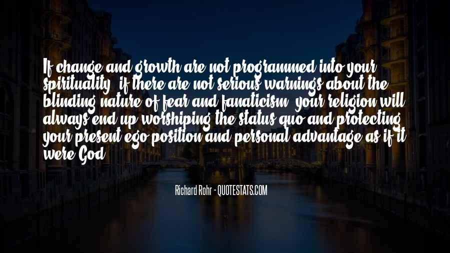 Quotes About Personal Change And Growth #1769678