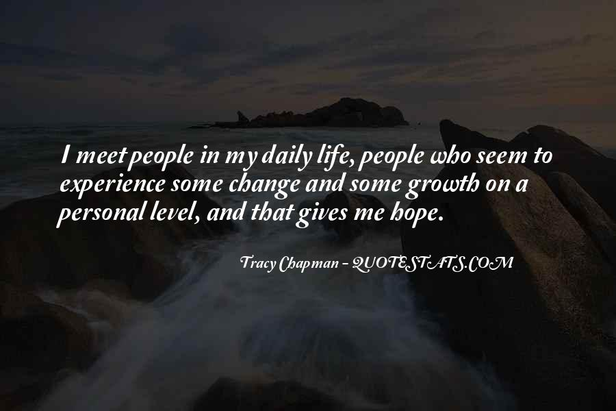 Quotes About Personal Change And Growth #351910