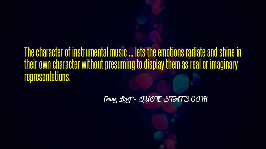 Quotes About Instrumental Music #1020233