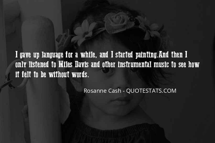 Quotes About Instrumental Music #1234474
