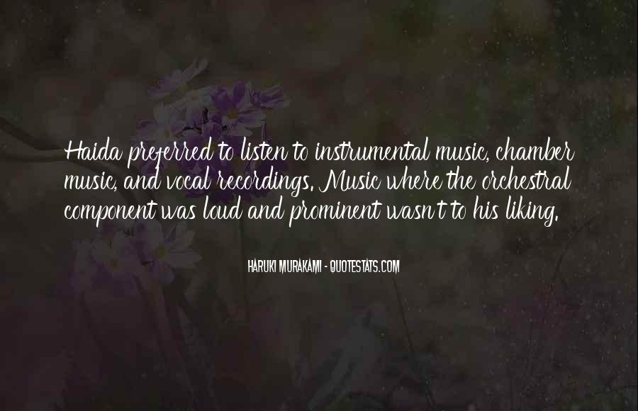 Quotes About Instrumental Music #1243374