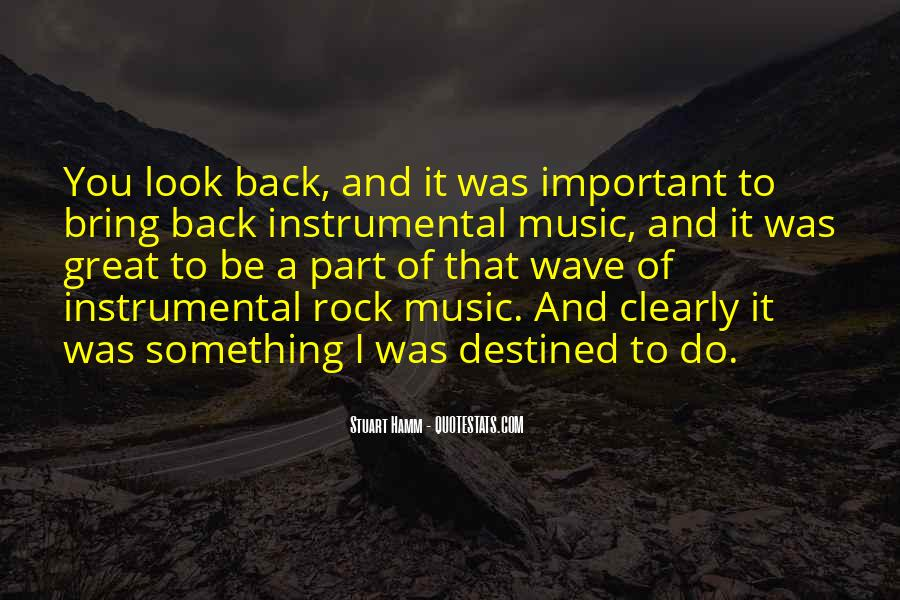 Quotes About Instrumental Music #1261925