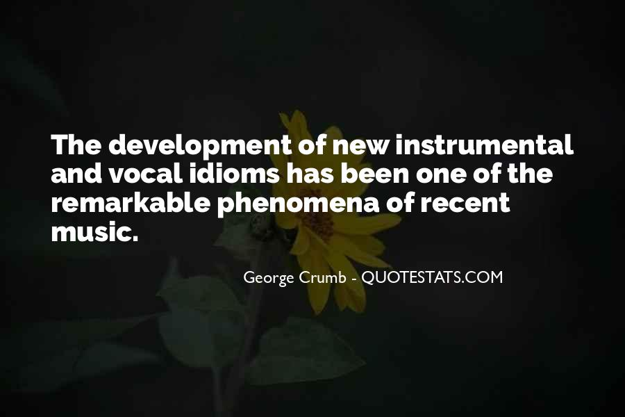 Quotes About Instrumental Music #1314516