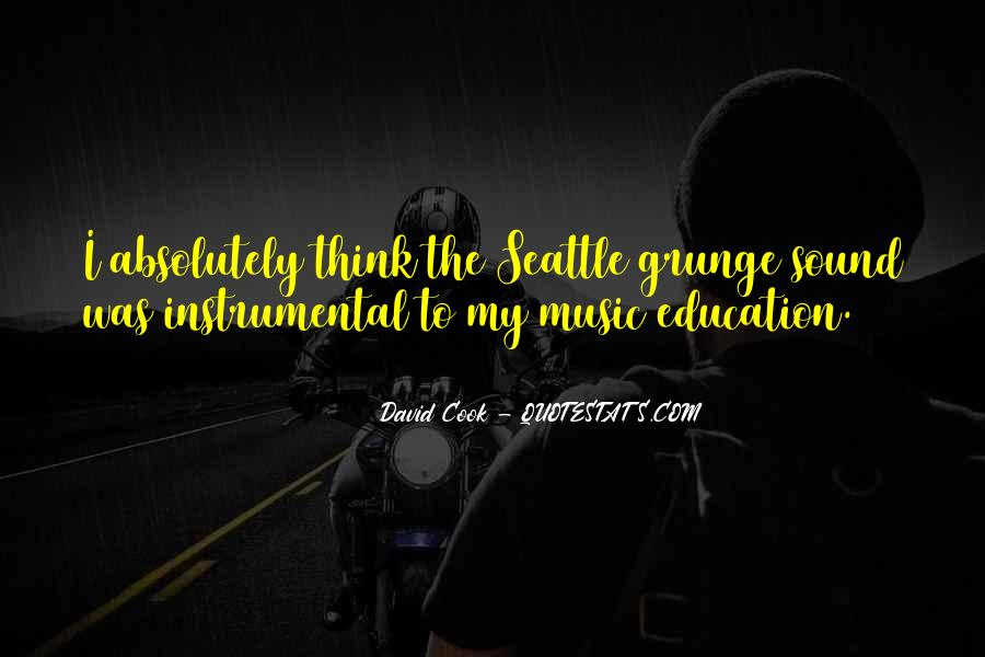 Quotes About Instrumental Music #1423897
