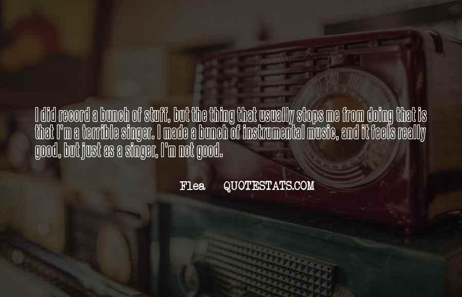Quotes About Instrumental Music #1614352