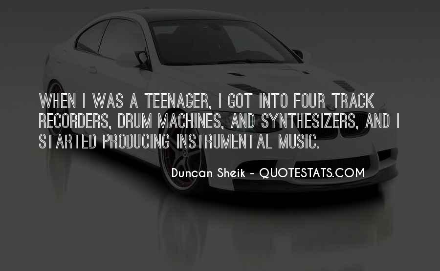 Quotes About Instrumental Music #1738136