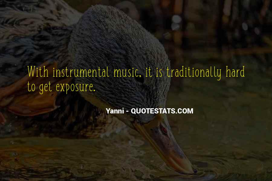Quotes About Instrumental Music #812447