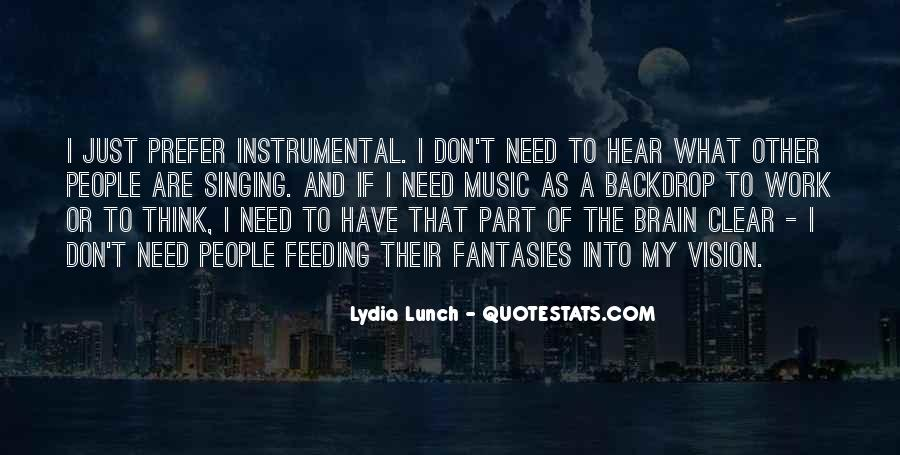 Quotes About Instrumental Music #875748