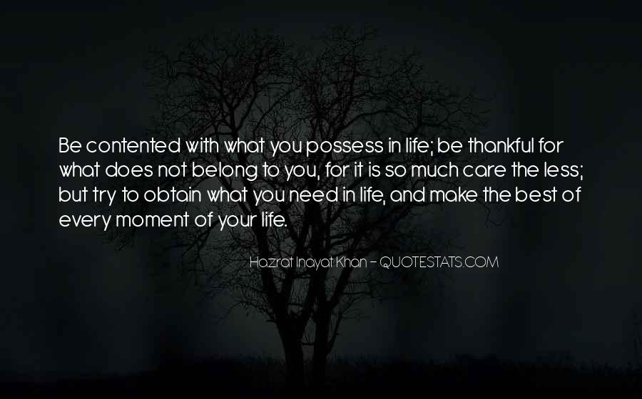 Quotes About Thankful For What You Have #40457