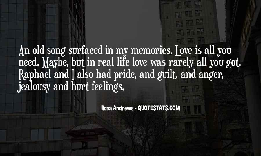 Quotes About Old Memories Of Love #1159183