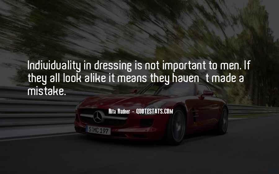 Quotes About Dressing Alike #314014