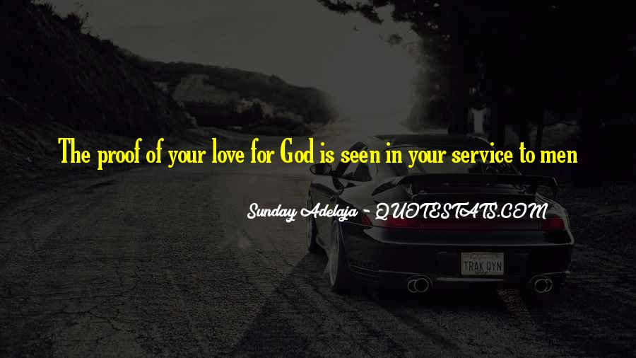Quotes About Loving God #138925