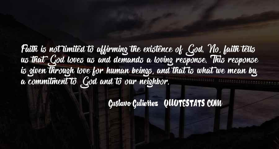 Quotes About Loving God #177018