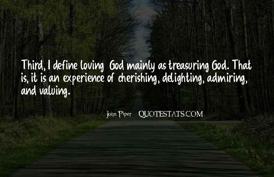 Quotes About Loving God #177206
