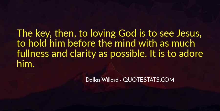 Quotes About Loving God #55065