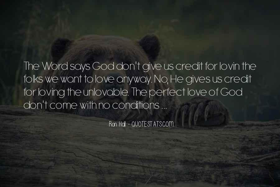 Quotes About Loving God #57558