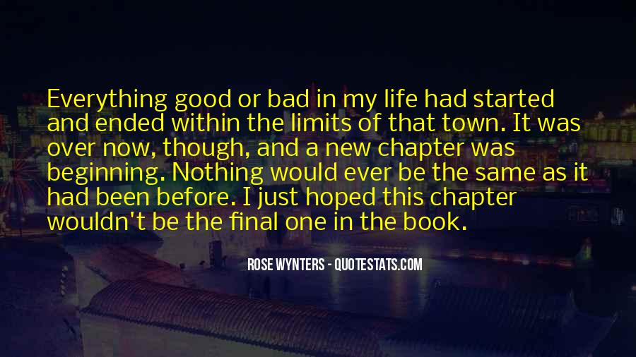 Quotes About Life Good And Bad #192795